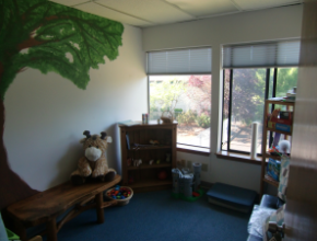 The play therapy room